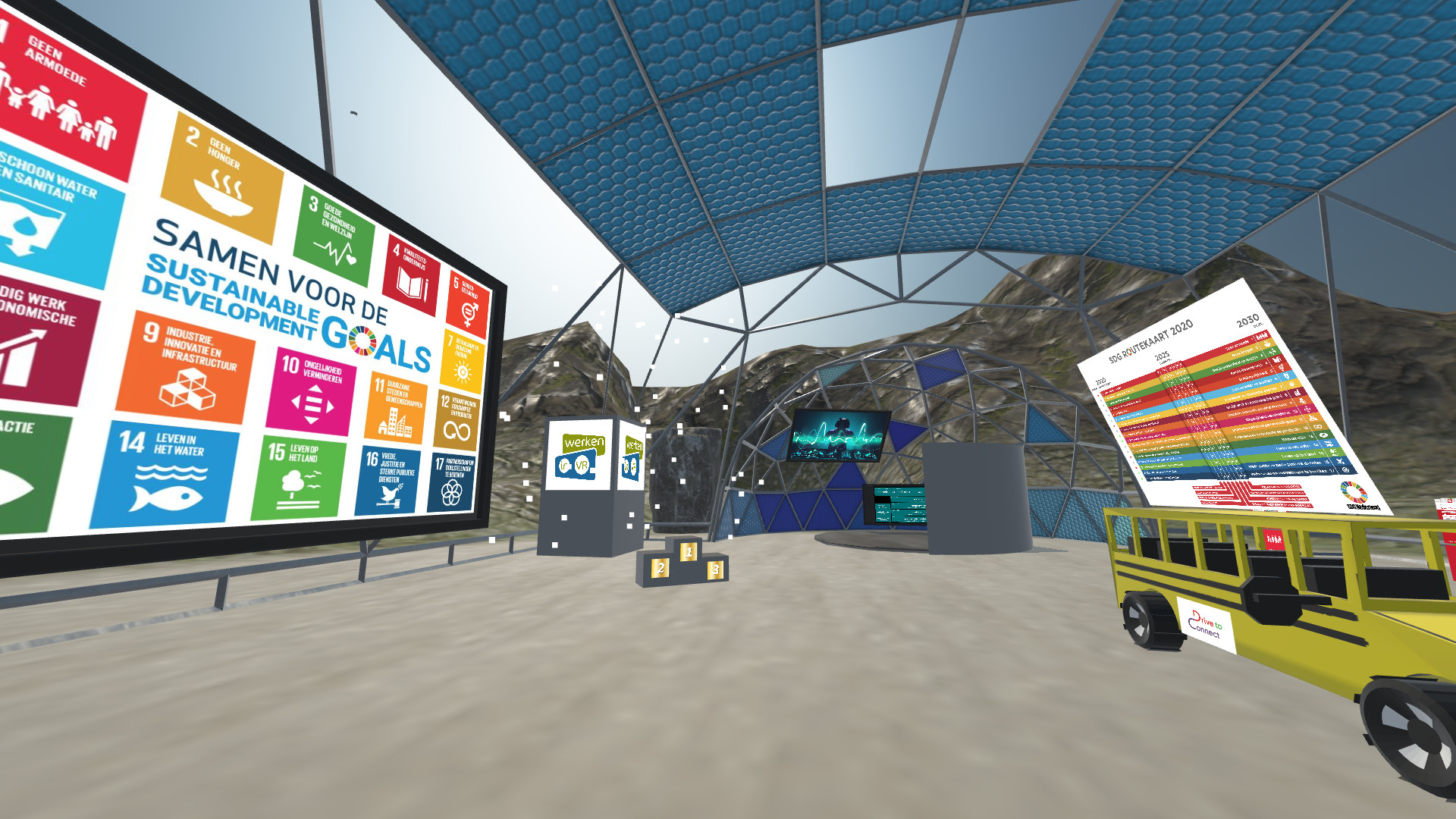SDG Meet & Educate in VR